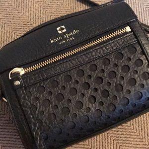 Kate Spade NY Black Leather Bag